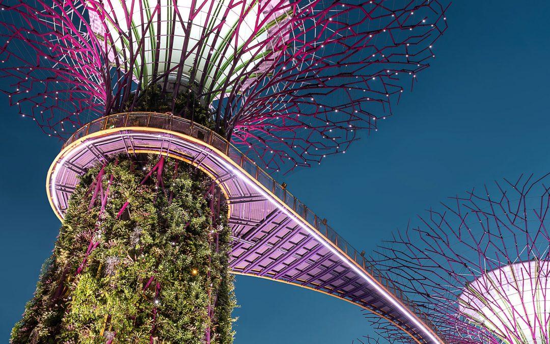 Singapore: a modern metropolis in south-east Asia