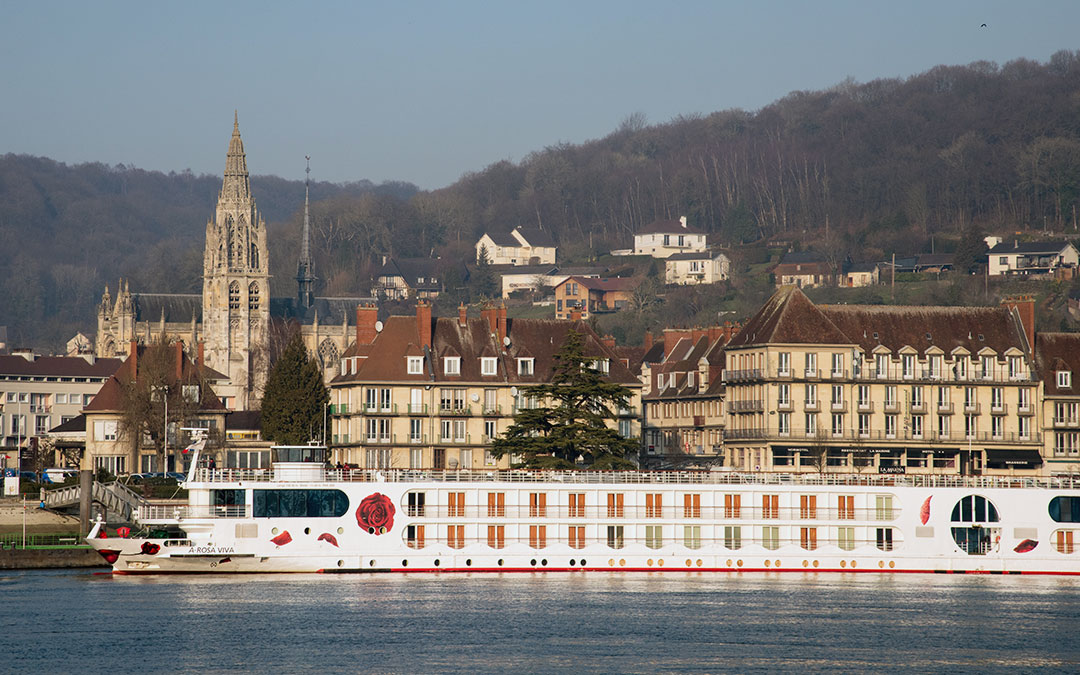 The French Connection – River cruising from the City of Lights to the sight of the D-Day landings in Normandy