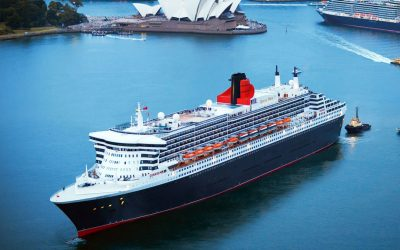 The romance of a transatlantic crossing on Cunard's iconic QM2