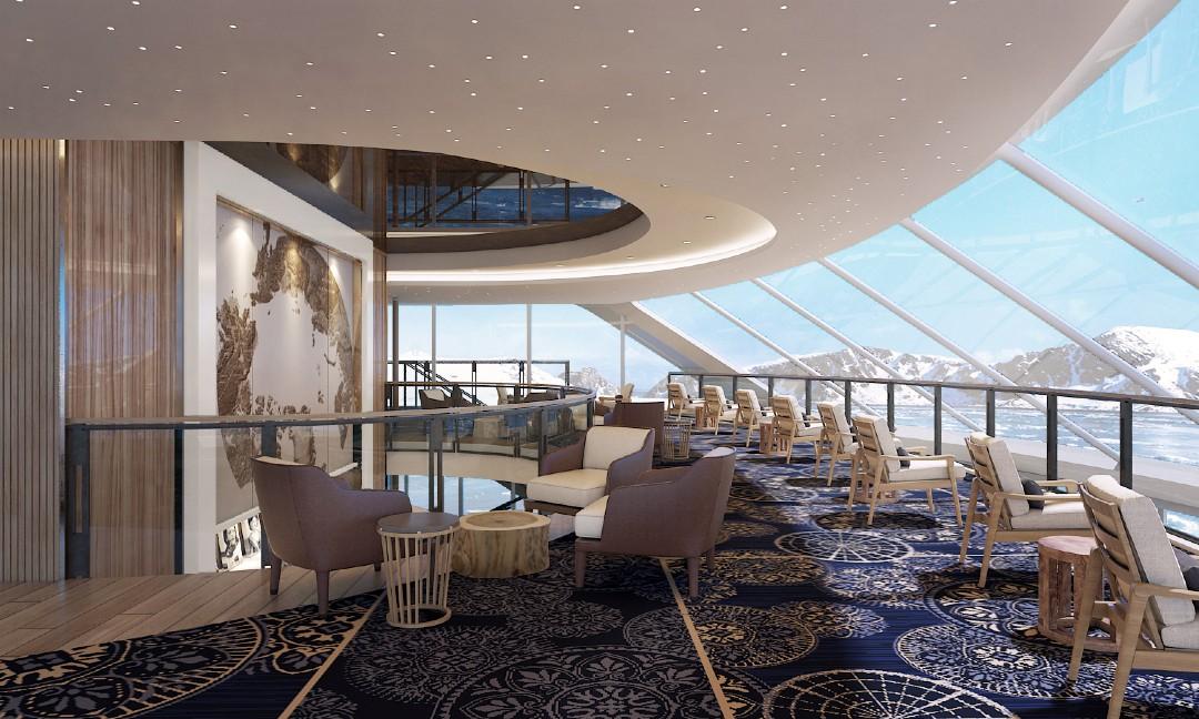Iona Glass House P&0 Cruises New Ship
