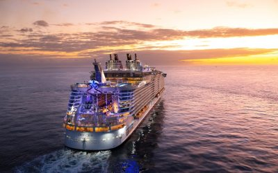 It's mustering Jim but not as we know it… Royal Caribbean has revisited safety and it looks like this