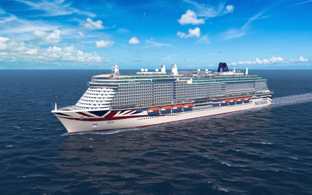 P&O Cruises names their new ship – and you're shore to love it!