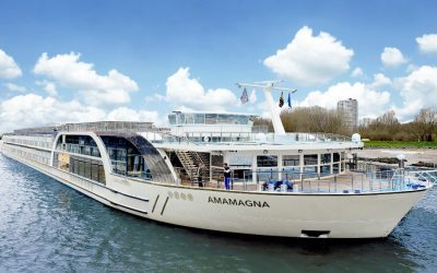 'We don't want it to feel like a week in hospital,' AmaWaterways' boss on setting sail again in the summer