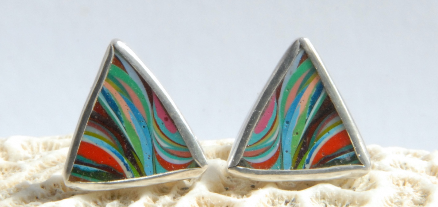 British_Craft_house_silver_surfite_earrings_cruise_blondes