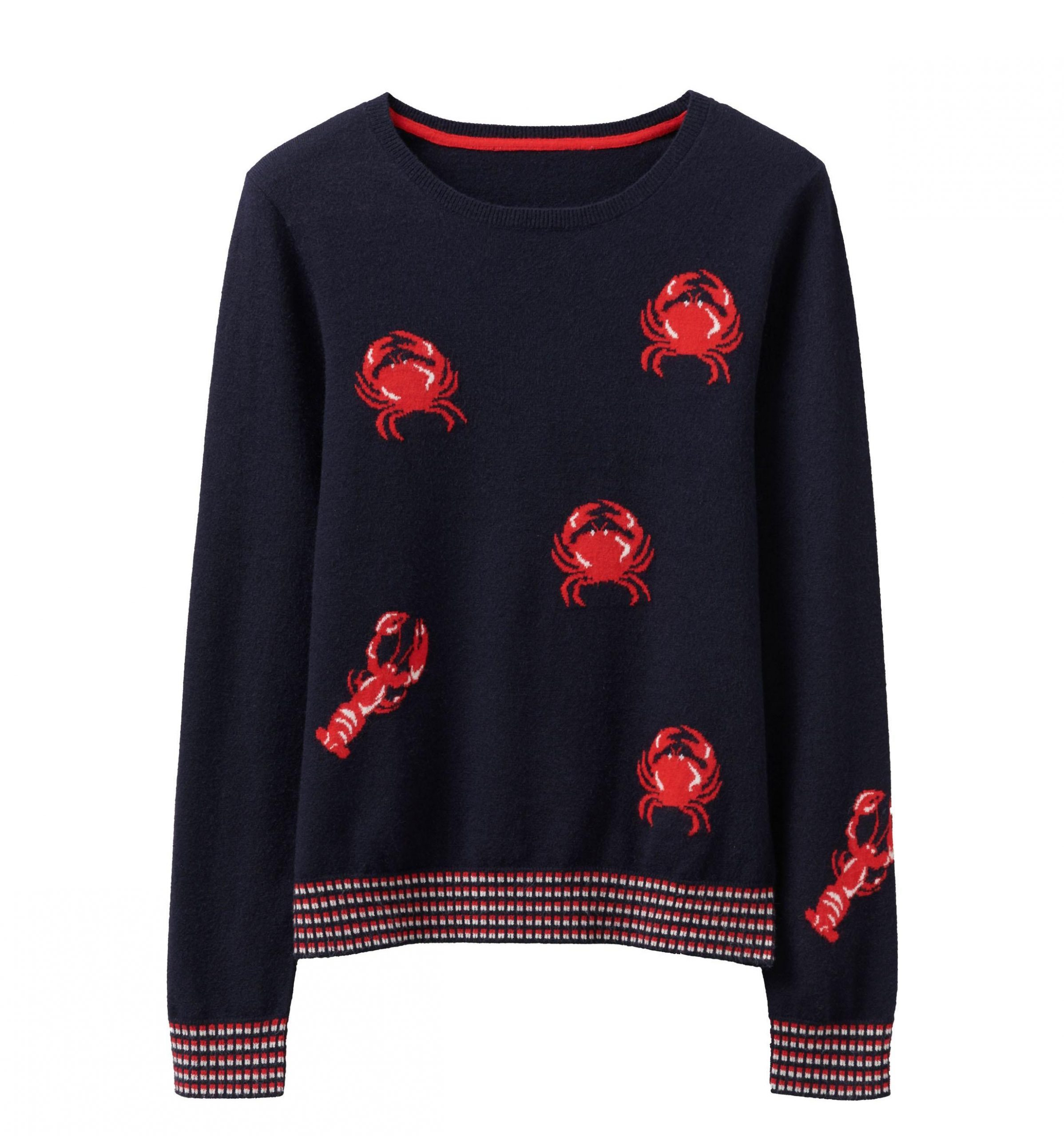 Staycation_Jumper_Crew_clothing_Cruise_Blondes_lobster_crab