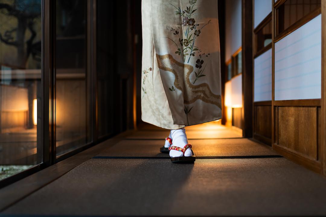 Traditional_ japanese_ house or ryokan